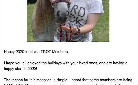 Message from the TROT President
